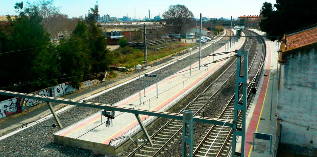 Mantenimiento integral de estaciones e infraestructura de estaciones ferroviaria