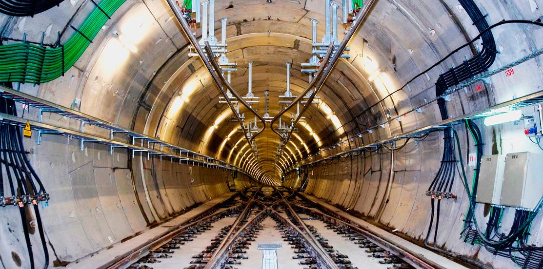 Mantenimiento de túneles y vías ferriviarias